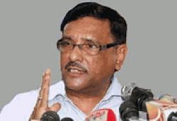 বিএনপি আন্দোলনে নামলে অবস্থা বুঝে ব্যবস্থা: ওবায়দুল কাদের