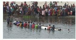 পঞ্চগড়ে বোদায় বারুনী স্নানোৎসবে নৌকা ডুবে বাক প্রতিবন্ধি যুবকের মৃত্যু