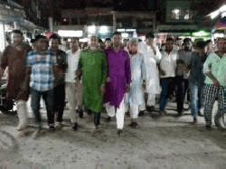 কুড়িগ্রামে খালেদা জিয়ার কার্যালয়ে পুলিশি তল্লাশির প্রতিবাদে বিক্ষোভ মিছিল