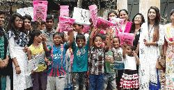 সুবিধাবঞ্চিত শিশুদের মুখে হাসি ফুটালো 'ভালোবাসি জামালপুর'
