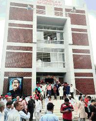 কচুয়া উপজেলা মুক্তিযোদ্ধা কমপ্লেক্স ভবন উদ্বোধন