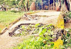 দুমকিতে আয়রন ব্রিজটি যেন মরণ ফাঁদ