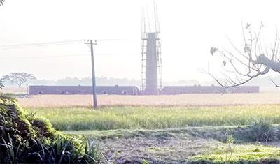 কমলগঞ্জে কৃষিজমিতে নির্মিত ইটভাটার কার্যক্রম বন্ধ