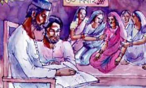 মণিরামপুরে ৭ম শ্রেণির ছাত্রীকে বিয়ে দেওয়ায় শিক্ষকদের প্রতিবাদ