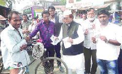 বনপাড়া পৌর নির্বাচনে প্রার্থীদের ব্যাপক গণসংযোগ