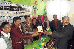 কমলগঞ্জে ১০ শহীদকে মরনোত্তর সম্মাননা প্রদান