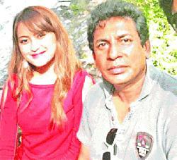 মোশাররফের সঙ্গে মালয়েশিয়ান অভিনেত্রী আজমি