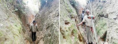 রাঙ্গুনিয়ায় পাহাড়ি সুরঙ্গপথ সৃষ্টি করেছে দুই এলাকার সেতুবন্ধন