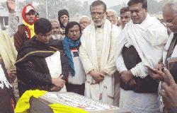 সান্তাহার ইউনিয়ন মুক্তিযোদ্ধা কার্যালয়ের ভিত্তি স্থাপন