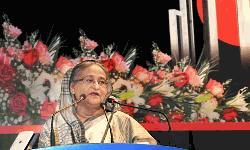 বাংলা ভাষা চর্চা না করার দীনতা পরিহার করতে হবে : প্রধানমন্ত্রী