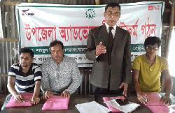 নলডাঙ্গায় এনএনএমসির উপজেলা অ্যাডভোকেসি কমিটি গঠন